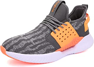 Kricely Men's Trail Running Shoes Casual Fashion Sneakers for Men Tennis Cross Training Shoe Outdoor Non-Slip Walking Foot...