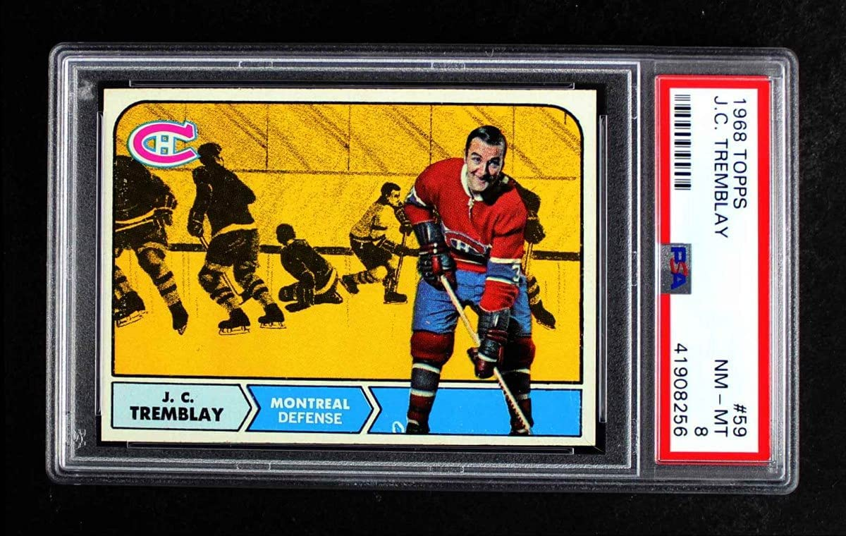 outlet 1968 Topps # 59 J.C. Tremblay Canadiens Montreal Card Bargain sale P Hockey