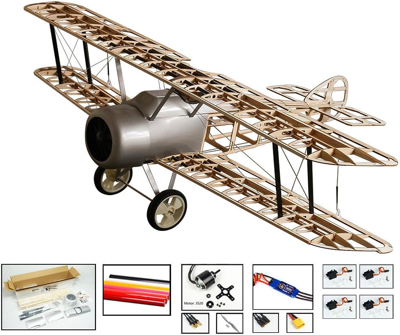 DW Hobby Radio control Aeroplane Sopwith Camel Biplane Model