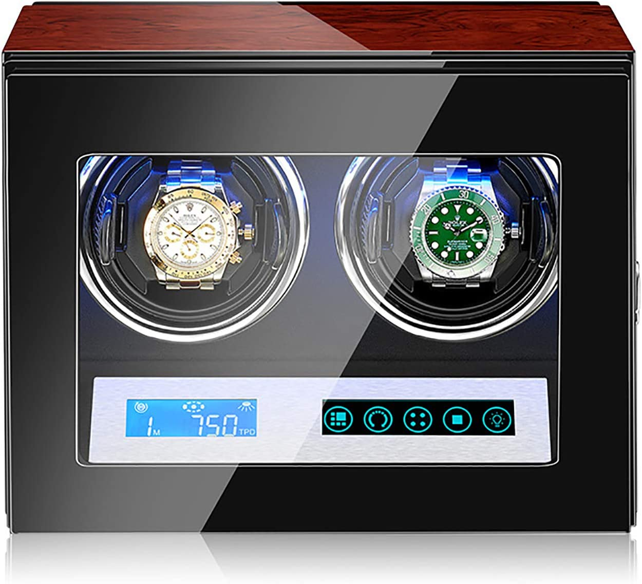 Mxmoonant Touch Screen Watch Winder Fees free!! Box Watches Shipping included Automatic