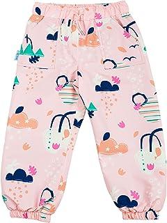 JAN & JUL Waterproof Puddle-Dry Rain Pants for Toddlers and Kids