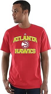 Atlanta Hawks NBA Men's Heart and Soul T-shirt Red