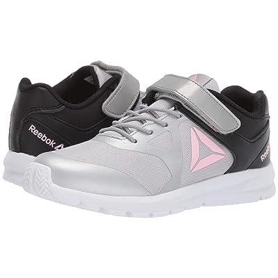 Reebok Kids Rush Runner A/C (Little Kid) (Grey/Black/Light Pink) Girls Shoes