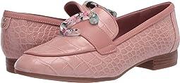 Cameo Pink Fine Nappa/Exotic Croco