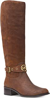 Michael Kors Heather Riding Boots Mocha Size 5M