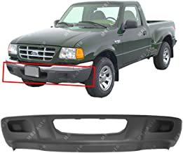 MBI AUTO - Textured, Black Front Bumper Lower Valance for 2001-2003 Ford Ranger 01-03, FO1095193