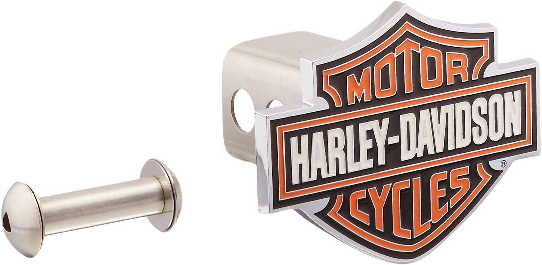 Harley-Davidson Orange Bar Shield Trailer 2'' Columbus Mall HDHC Las Vegas Mall Hitch Cover
