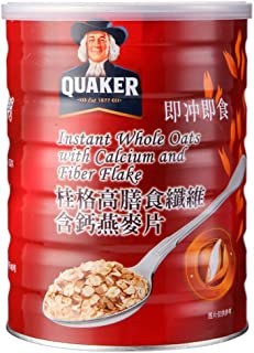 Quaker Instant Oatmeal with Calcium & Fibre Can,