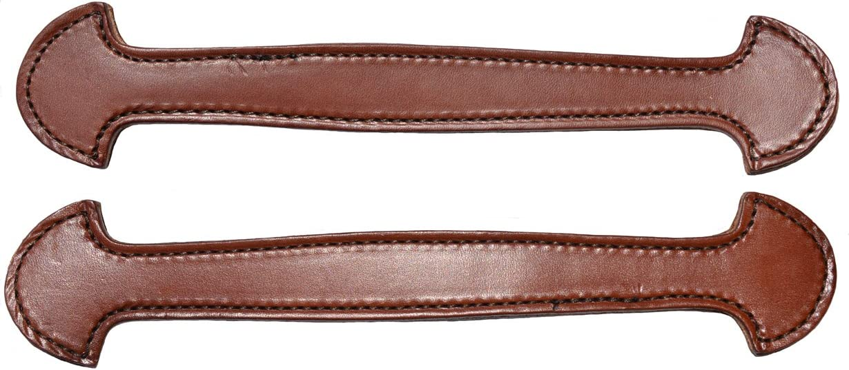 free Congress Leather Pair Free shipping of Brown Stitched Steamer Double