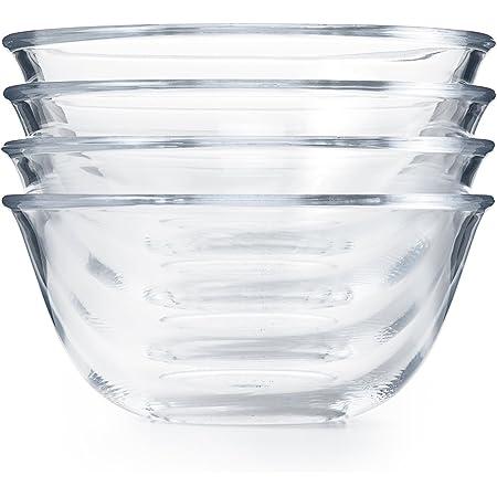 OXO Good Grips 4-Piece Glass Prep Bowl Set