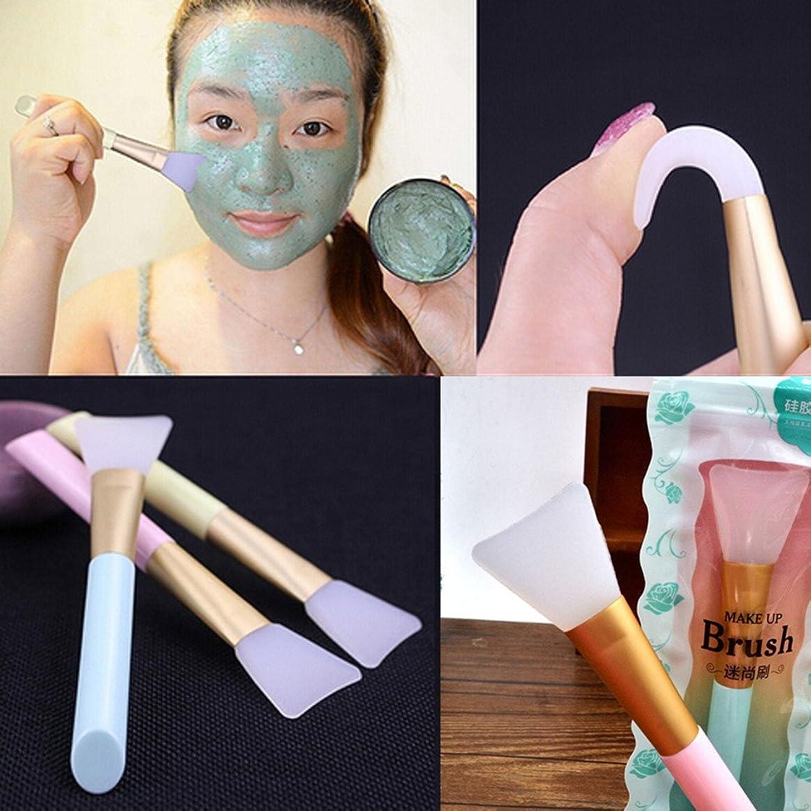 マットレス美しいお父さん女性の顔のマスクミキシングツールプロ完璧なメイクファンデーションソフトシリコーン化粧ブラシ泥クリームマスク Profissional