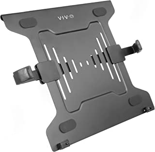 VIVO Universal Adjustable 10 to 15.6 inch Laptop Mount Holder for VESA Compatible Monitor Arms, Notebook Tray Stand-LAP3