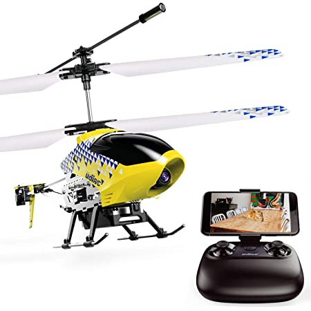 Cheerwing U12S Mini RC Helicopter with Camera Remote Control Helicopter for Kids and Adults