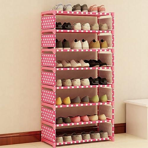 Schuh Einfache und mehrStückige Lagerregale A+ (Farbe   Rosa)