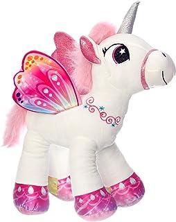 49e2ef8369 Unicorno 50 cm Grande Peluche in Piedi Pony Cavallo Bianco per Bambini  Ragazzi Adulti San Valentino