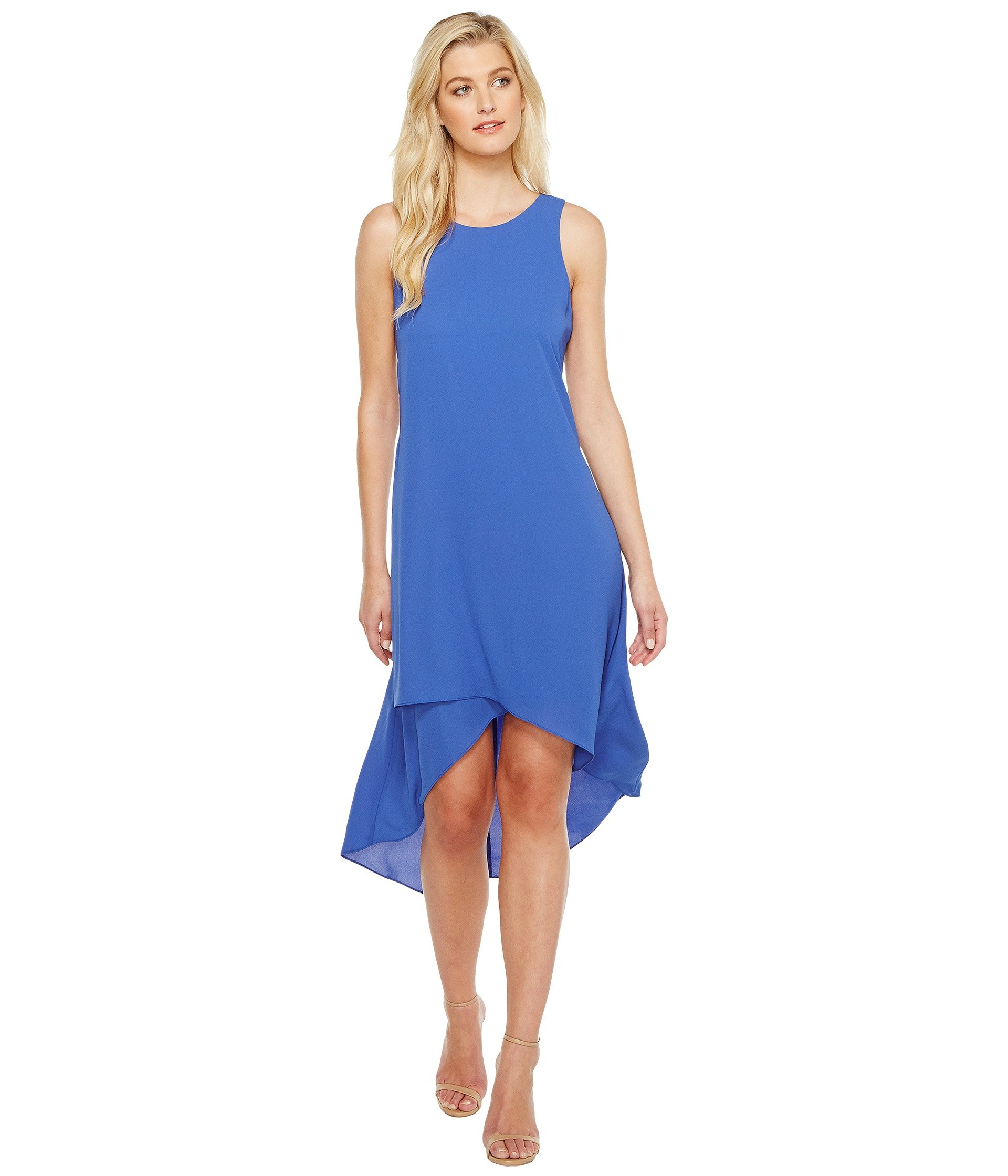 Asymmetric Hi Lo Dress