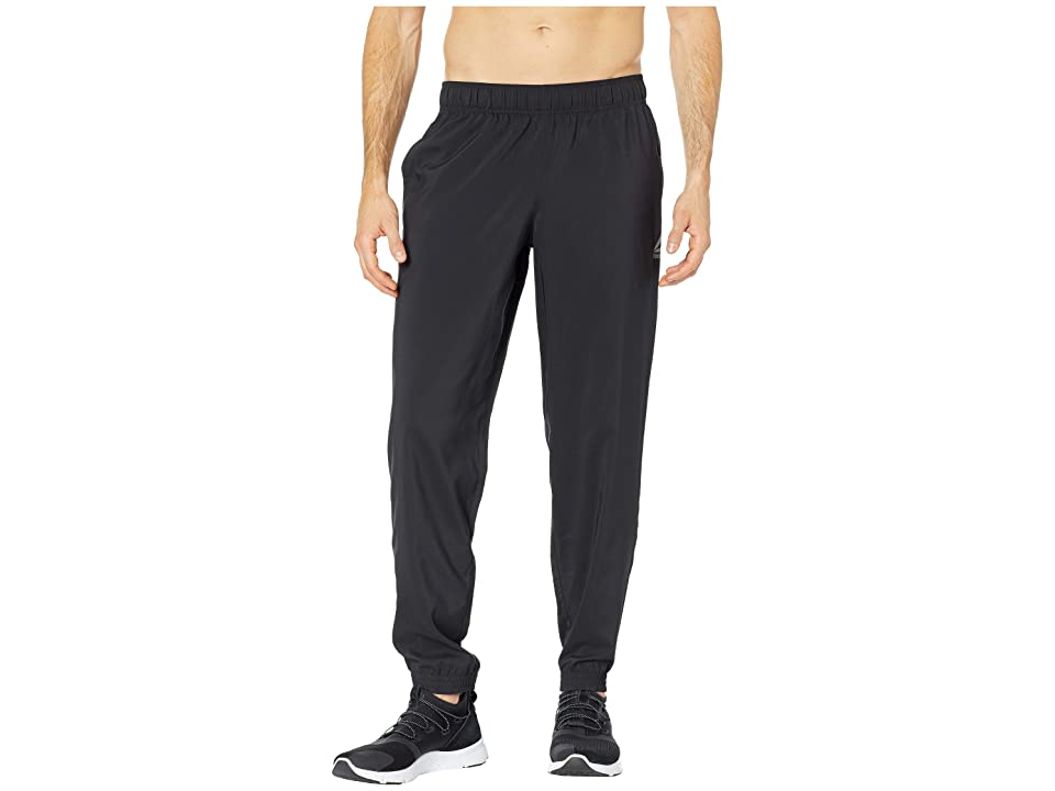 Reebok Training Essentials Woven Cuffed Pants (Black) Men