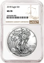 Best 2018 silver eagle ngc ms70 Reviews