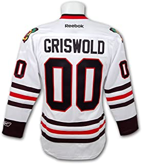 griswold 00 blackhawks official hockey jersey