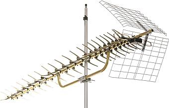 Antennas Direct 70 Mile Range Yagi Directional UHF DTV Antenna, 4K Ready, Attic, Outdoor,..