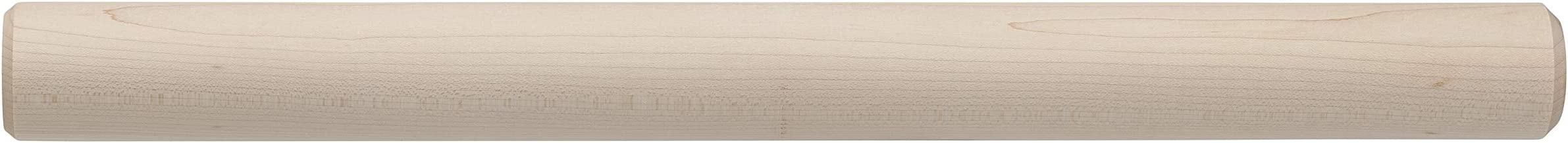 Ateco Solid Maple Wood Dowel Rolling Pin, 19-Inches