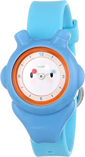 Alessi Kids' AL23000 Space-Bimba Polyurethane Blue Designed by Miriam Mirri Watch