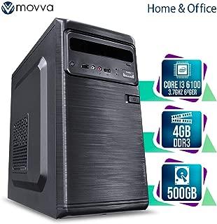 COMPUTADOR HYDRO INTEL I3 6100 3.7GHZ 6ª GER. MEM. 4GB DDR3 HD 500GB HDMI FONTE 200W - LINUX - MVI3H110D35004 - MOVVA SEM PPB