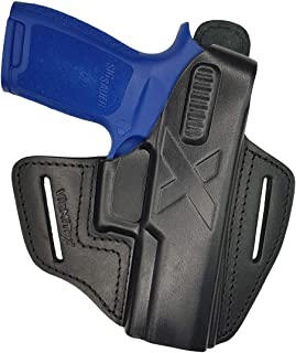 VlaMiTex B26 Leather Holster for Sig Sauer P250 / P320 Compact / P250 Carry / P320 Carry / P250c / P320c �