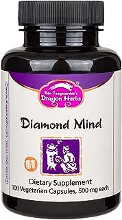 Dragon Herbs Diamond Mind - 500 mg - 100 Capsules