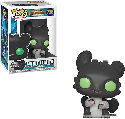 Funko Pop! Movies: How to Train Your Dragon 3 - Night Lights 1