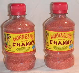 Miguelito Chamoy Chilito En Polvo Mexican Candy Chili Powder 2 Bottles 250g Each