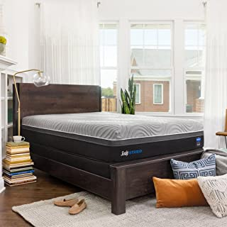 Sealy Posturepedic Hybrid Performance Kelburn 13-Inch Medium Firm Cooling Mattress, Queen, Made