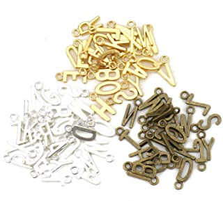 Best gold letter charms Reviews
