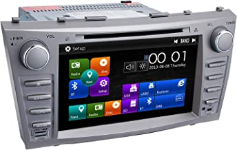 Camry Car Stereo DVD Player-Double Din in-Dash, Multimedia Receiver with Touchscreen, Built-in Bluetooth, MP3 Player, GPS Navigation, SD, AUX Input, Radio Receiver (Function Machine)