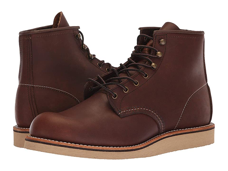 Red Wing Heritage 6 Rover Round Toe (Amber Harness) Men