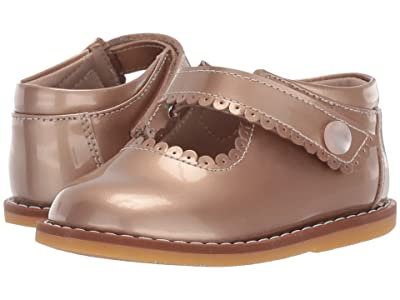 Elephantito Mary Jane (Toddler) (Patent Rose Gold) Girls Shoes