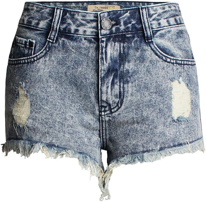Frauen Hohe Größe Stretch Denim Freizeit Jeans Party Clubwear Tasche Kleidung Löcher Lose Shorts Heiße Hosen B074SHV4HF  Sport entzündet das Leben