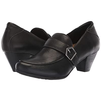 Taos Footwear Troubador (Black Leather) Women