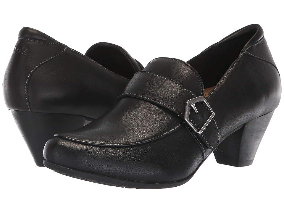 Taos Footwear Troubador (Black Leather) Women