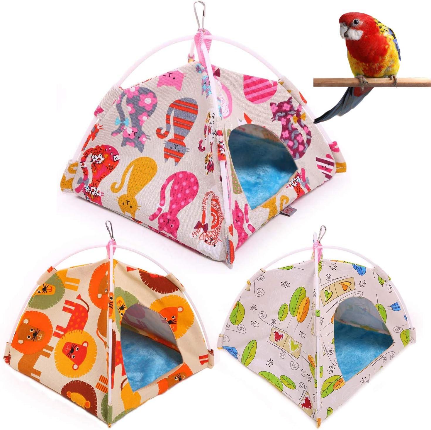 Bird Nest Hut Our shop OFFers the best service Hammock—Bird Bed House Tent Parrot Limited price sale Habita