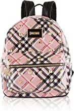 Betsey Johnson Womens Heart Lock Backpack