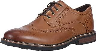 light brown wingtip boots