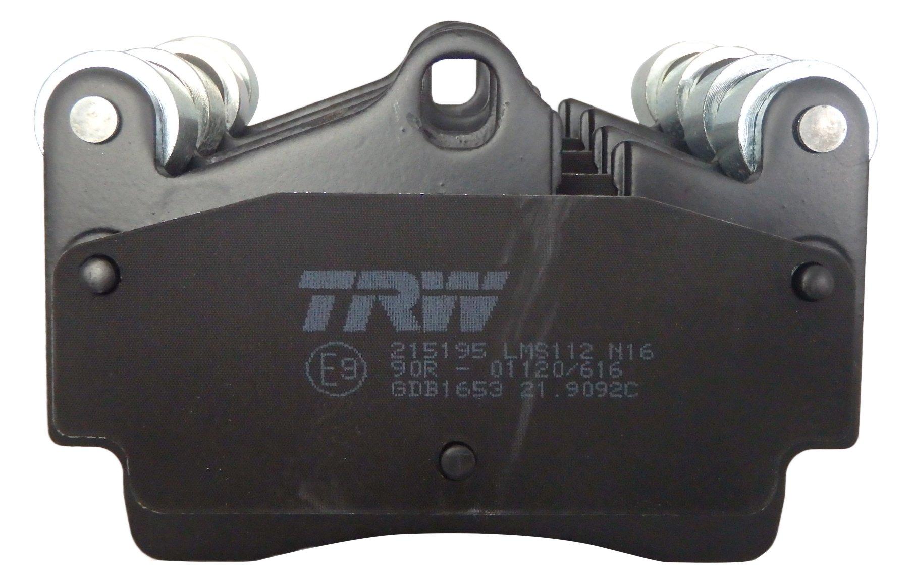 TRW Automotive AfterMarket GDB3375 pastilla de freno