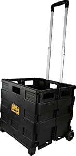 Olympia Tools 85-010 Grand Pack-N-Roll Portable Tools Carrier with Telescopic Handle, 80 Lb. Load Capacity, Black