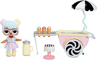 L.O.L. Surprise! 564911E7C Furniture Ice Cream Pop-Up with Bon & 10+ Surprises