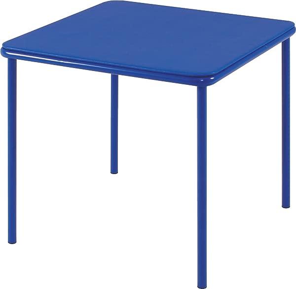 Cosco Kid S Vinyl Top Table Blue