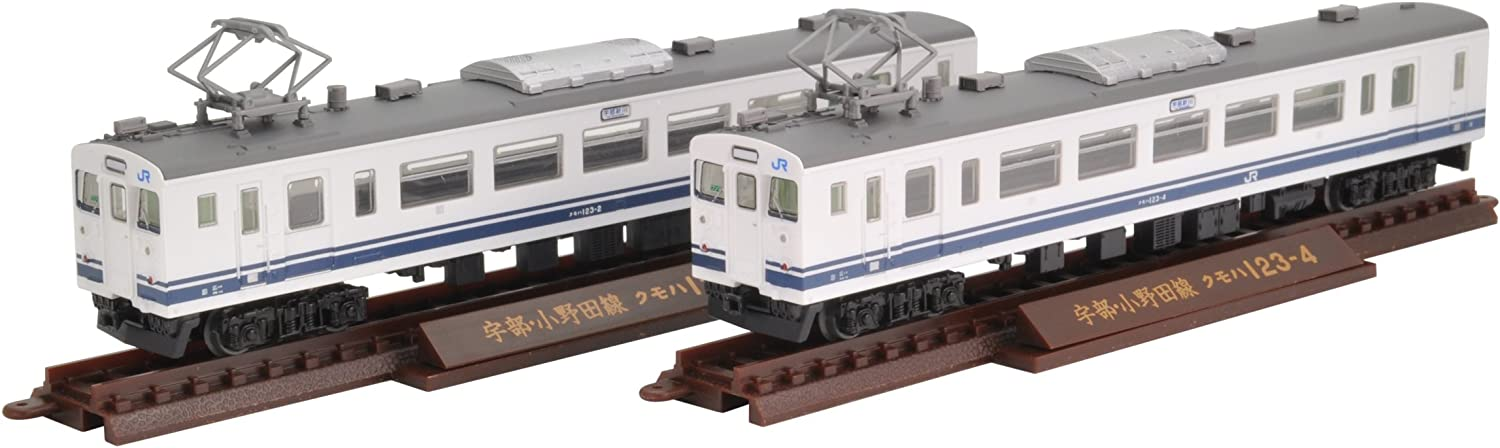 Railway collection iron Colle JR123 of Ube and Ono line 2car set
