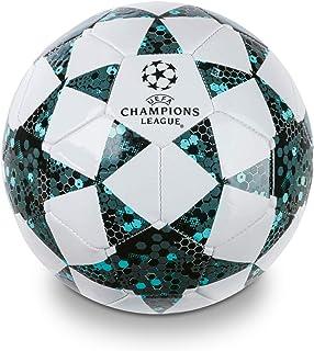 Mondo Toys 13846 - Balón de fútbol para Hombre, Talla 5, 400 g, Color Blanco, Negro y Azul