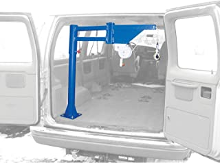 Vestil Low-Profile Manual Lift Van & Truck Jib Crane VAN-J 400 Lb. Capacity