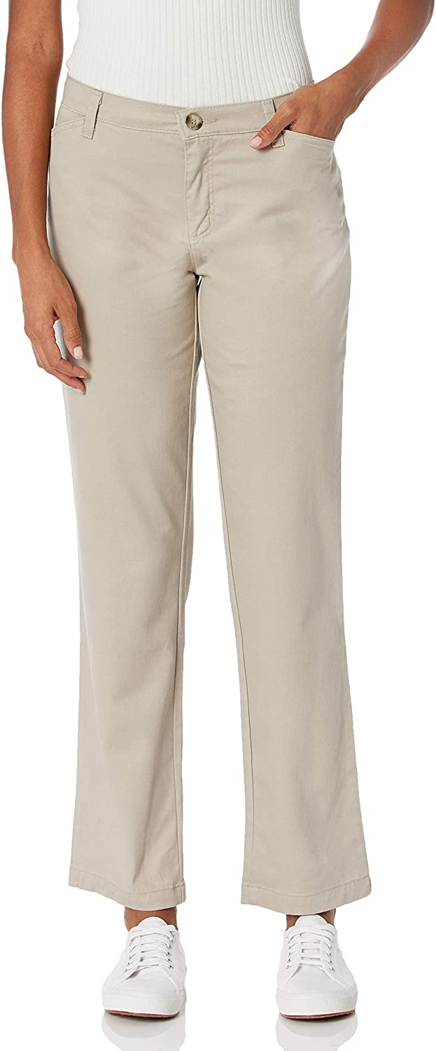 Riders by Lee Indigo gift supreme Women's Stretch Pant Twill Front Flat